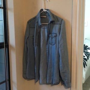 Zara chambray shirt
